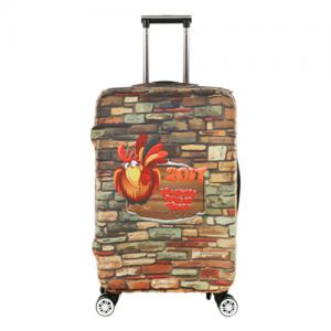 Durable elastic luggage cover