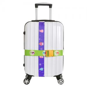 Sublimated durable luggage belt